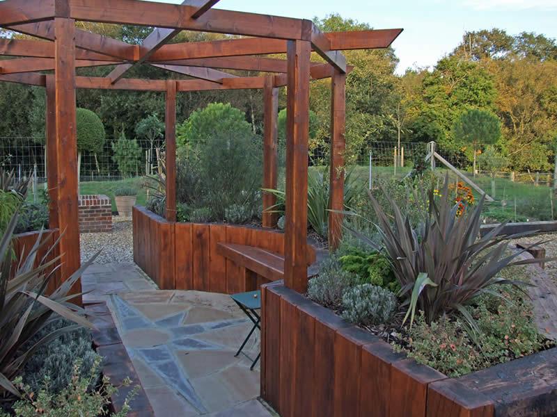 Top 30 Raised Herb Garden Designs Edible Garden Inspiration
