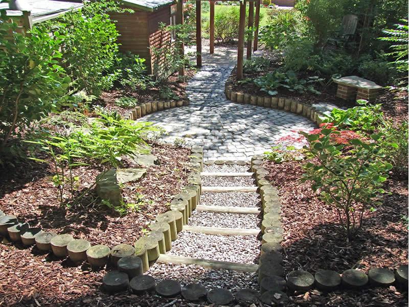S J Cook Landscaping Garden Design GARDEN FEATURES